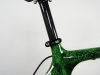 722 Jack Kane Bikes electric green crystals _ seat post