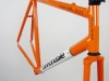handmade cannondale frame _ head tube