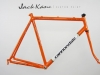 handmade cannondale frame _ kane bicycles custom paint