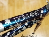 Trek Domane Disc Custom Paint _ top tube