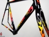 Cannondale Evo Super Six Custom Paint _ flame fork