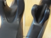 example of bad good carbon bicycle work _ carbon repair