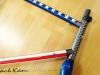 custom painted gunnar steel bike _ american flag