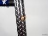 custom painted gunnar steel bike _ head badge