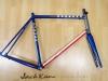 custom painted gunnar steel bike _ jack kane bicycles