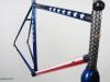 custom painted gunnar steel bike _ profile