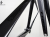 Repainted Trek Project One _ fork top tube