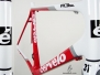 Cervelo R3SL - Red, White, Silver, Black