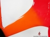 custom painted specialized shiv _ red orange