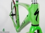 S - Works Roubaix Disc - Green Silver Snake