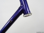 Trek - Metallic Purple Burgundy
