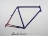 vintage trek steel custom paint _ kane bicycles